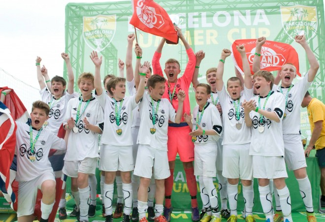 Bareclona Summer Cup, International Summer Football Tournament in Barcelona, Spain
