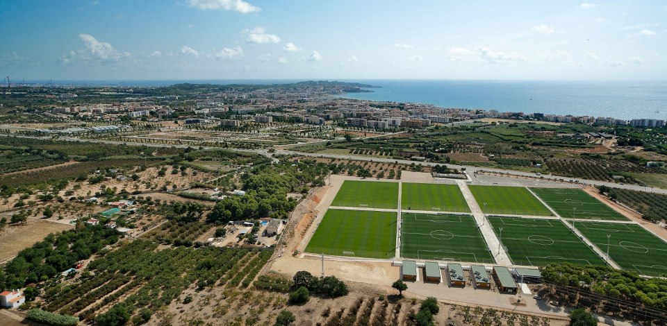 Costa Daurada International youth soccer tournament Spain